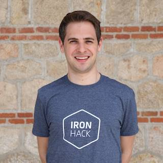 Ironhack Data Analytics instructor Marc Pomar