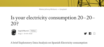 Is your electricity consumption 20–20–20?